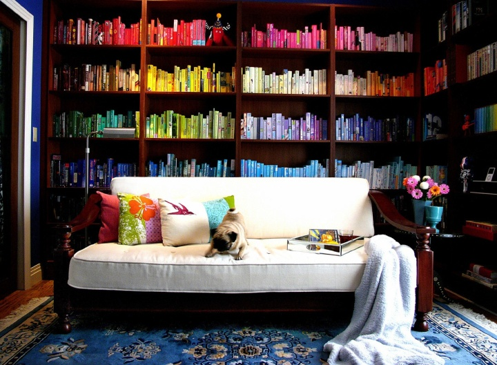 Colorful-Bookshelf