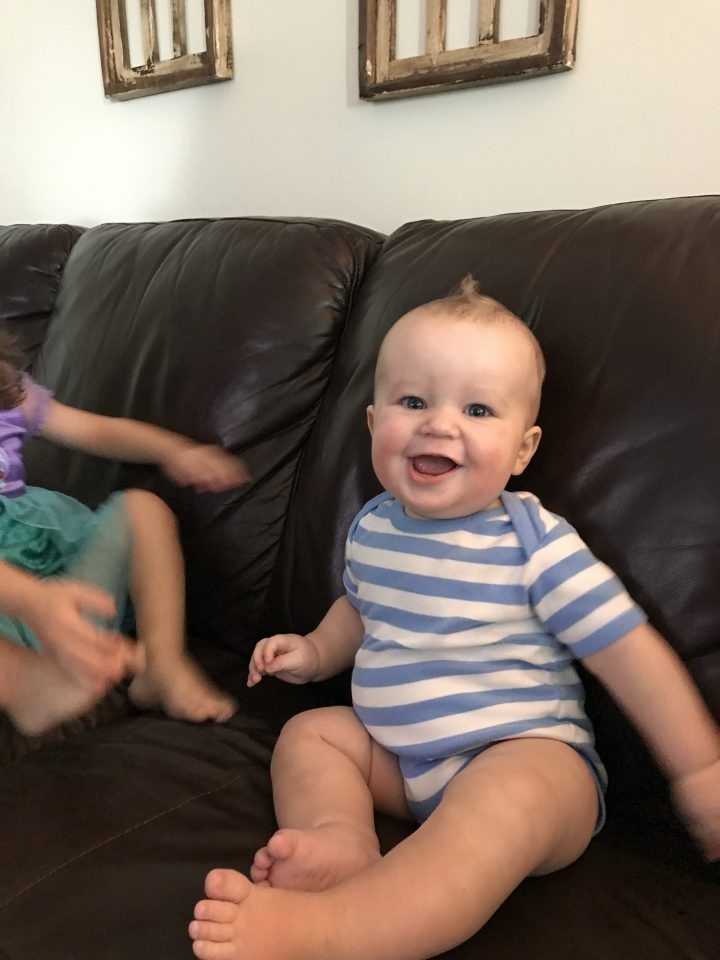 Motherhood Update: Ollie at 6 months, Annie at 2 (almost 3)